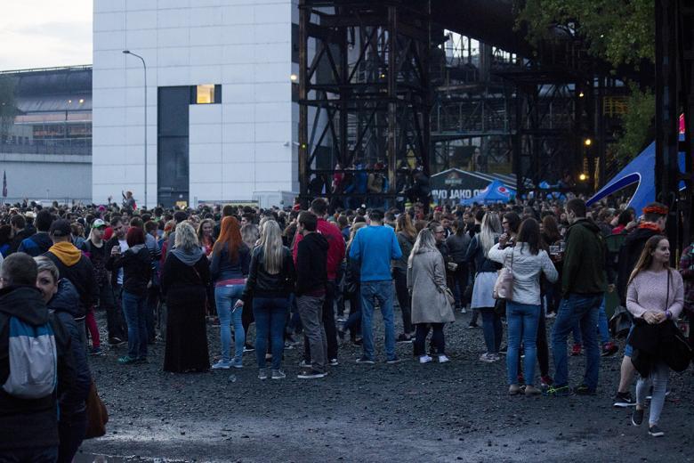 Majáles Ostrava přivítal Mandrage, Wohnout, No Name i déšť