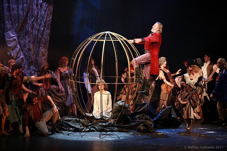 Antoinetta se po třech letech rozloučila s divadelními prkny Hybernie