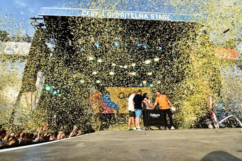 Colours of Ostrava nabídly hned první den nejsilnější line-up. Dorazili Imagine Dragons i alt-J