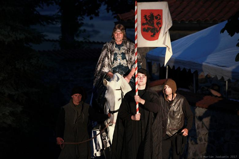 Daniel Rous jako Karel IV.