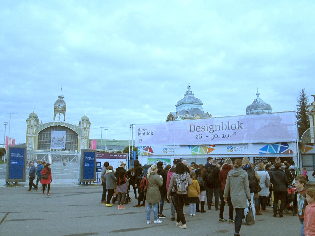 Průmyslový palác v Praze, kde se koná Designblok.