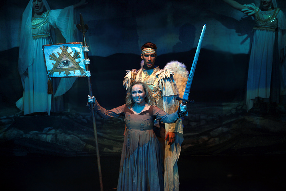 Bára Basiková jako Johanka z Arku