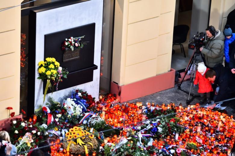 FOTO: Jak se slavil 17. listopad v ulicích Prahy?