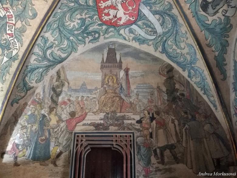 Hlavní vestibul Staroměstské radnice. Foto: Andrea Morkusová