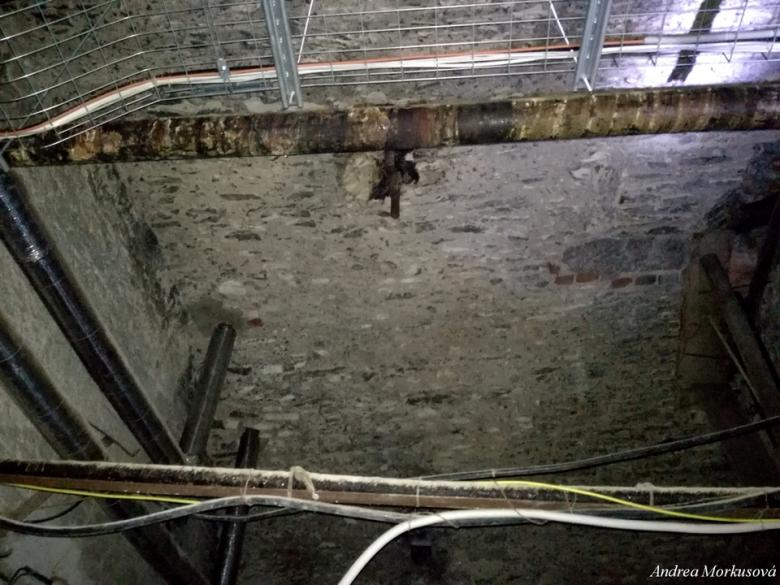 Podzemní tunely. Foto: Andrea Morkusová