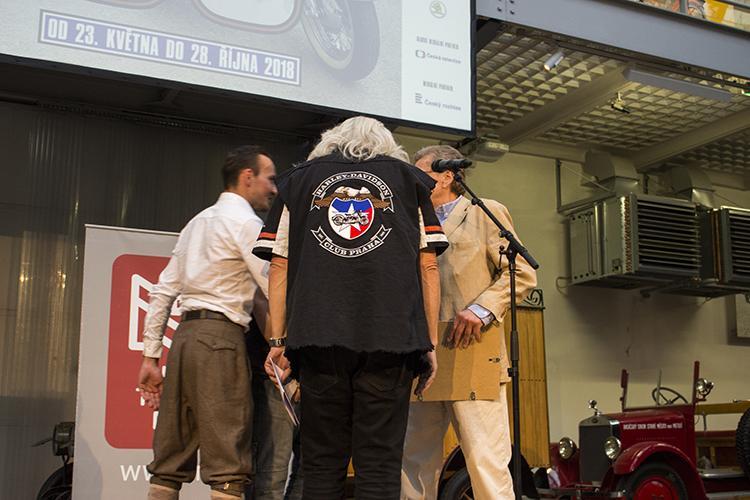 Národní technické muzeum v Praze vzdává hold pražskému klubu Harley Davidson