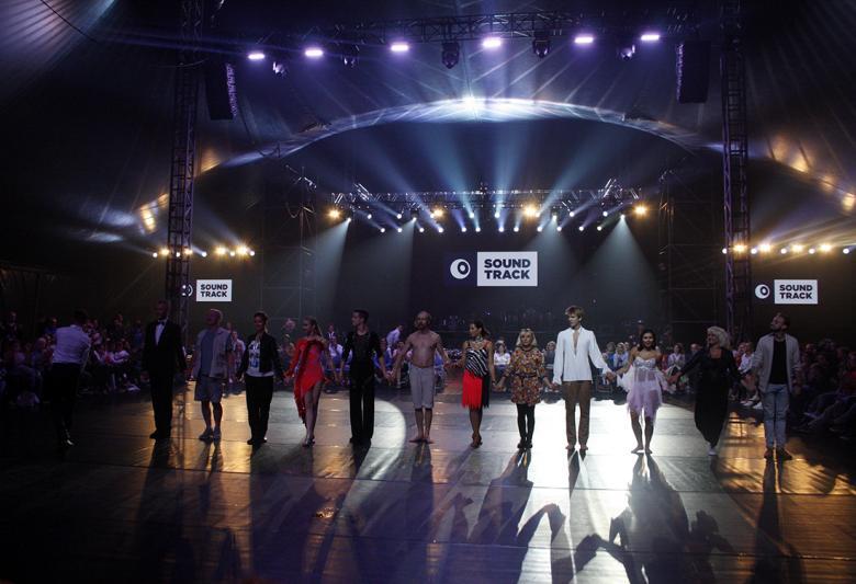 Hvězdy Stardance na taneční show. Foto: Adam Skalník