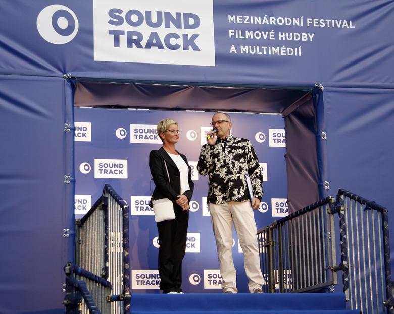 Dorazila i televizní moderátorka Marcela Augustová. Foto: Adam Skalník