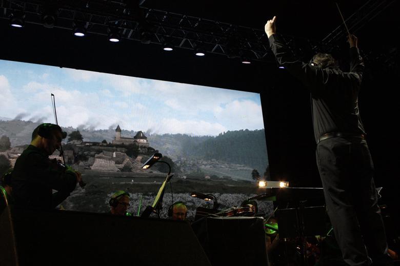 Koncert hudby ke Kingdom Come: Deliverance. Foto: Adam Skalník