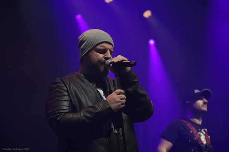 Frontman skupiny Eddie Stoilow Jan Žampa