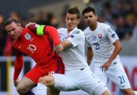 Anglie vs Slovensko