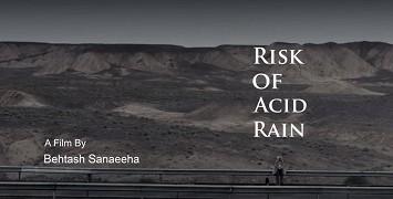 Riziko kyselého deště